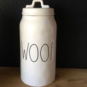 Other - Rae Dunn woof canister